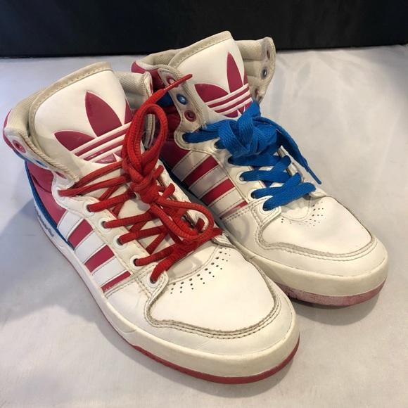 Women Adidas Court Attitude Q32914 Sz 7